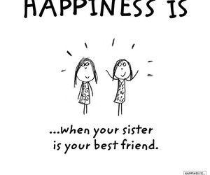 best friend, happiness, and sister image
