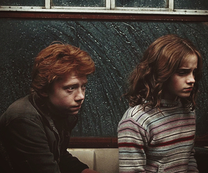 couple, love, and harry potter image