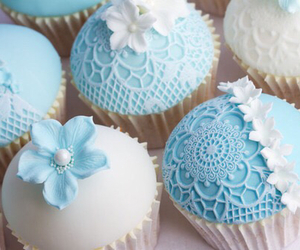 blue, cupcake, and frozen image