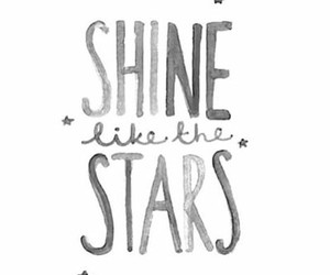 stars, quotes, and shine image