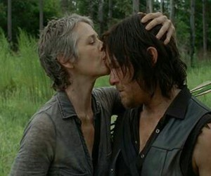 twd, caryl, and the walking dead image