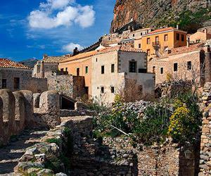 castle, Greece, and Ελλάδα image
