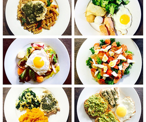 eating, food, and healthy image