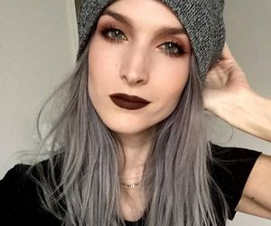 outfit, beanie, and fashion image