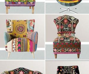 chair, decoration, and furniture image