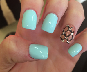 nails, cute nails, and nail designs image