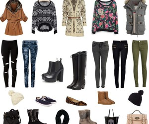 bags, outfits, and beauty image