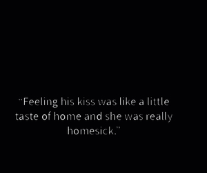 black and white, him, and homesick image