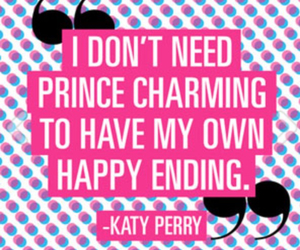 katy perry and quote image