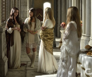dress, fashion, and reign image
