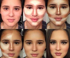 makeup, make up, and face image