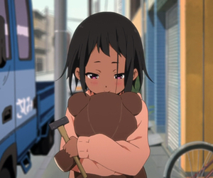 tamako market, anime, and kawaii image