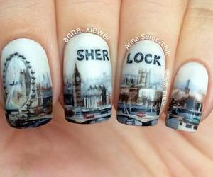 nails, sherlock, and london image