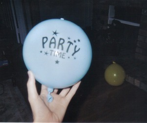 grunge, party, and balloons image