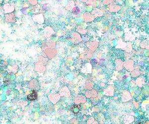 glitter, stars, and blue image