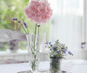bouquet, flowers, and shabby chic image