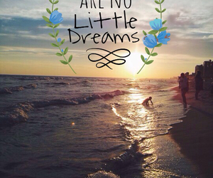 beach, Dream, and dreamer image