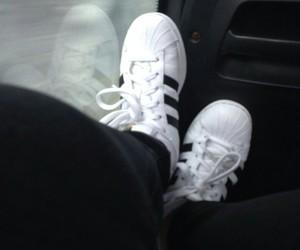 adidas, black, and travel image