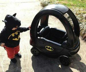 baby and batman image