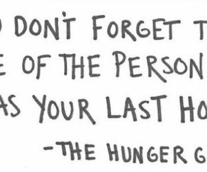 quotes, hope, and hunger games image