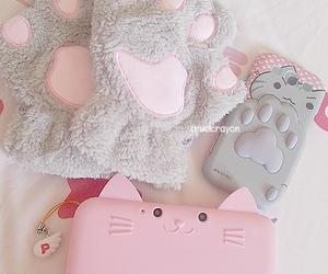 pink, cat, and kawaii image