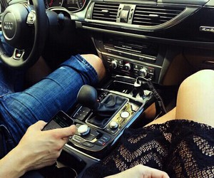car, couples, and romantic image