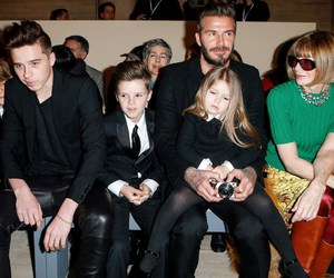 Anna Wintour, front row, and vogue image