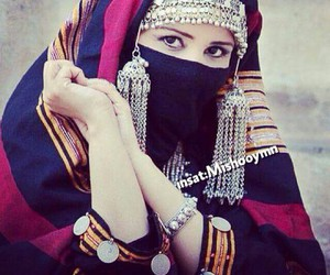 fashion, niqab, and tradition image
