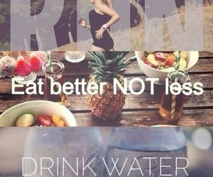 fitness, run, and water image