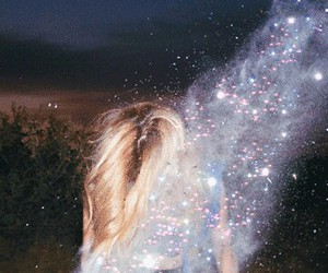 girl, photography, and glitter image