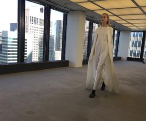 cape, fashion, and fashion show image