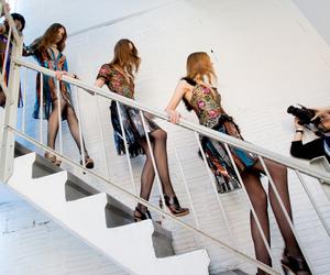fashion, models, and New York Fashion Week image