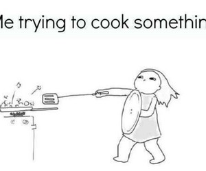 funny, cook, and lol image