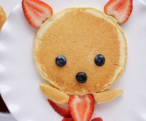 food, pancakes, and cute image