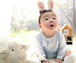 baby, daehan, and cute image
