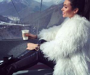 fashion, classy, and fur image