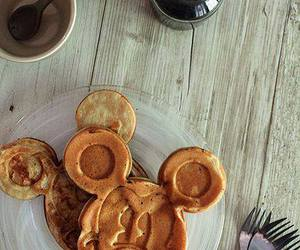disney, food, and pancakes image