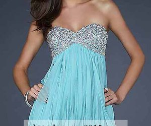 dress and short prom dress image