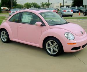 baby pink, cars, and hipster image