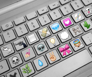 emoji, keyboard, and emojis image