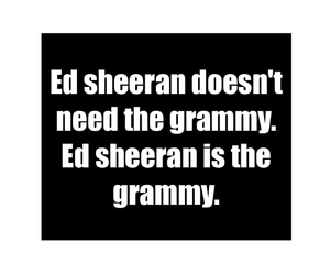 grammy, ed sheeran, and love image