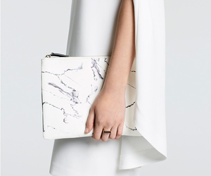 white, fashion, and marble image