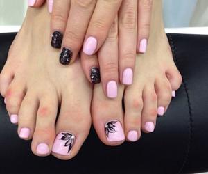 nail polish, nails, and nail design image