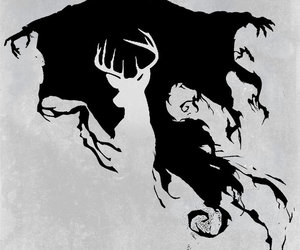harry potter, dementor, and patronus image