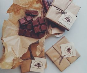 chocolate, food, and chokolate image