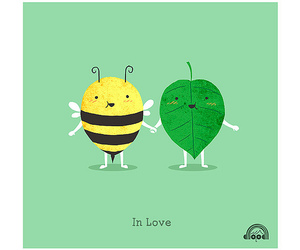 love and bee image