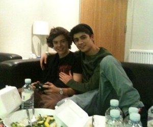 zayn malik, Harry Styles, and one direction image
