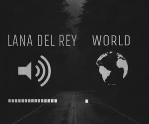 lana del rey, music, and world image
