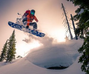 snow and snowboarding image