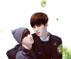 couple, Ikon, and jinhwan image